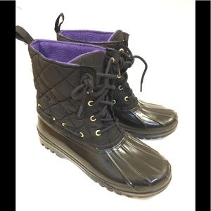 Sperry Waterproof Rubber Top Sider Duck Boot 7